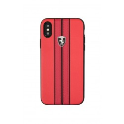 Ferrari Urban Protective Case for Apple iPhone XS - Red