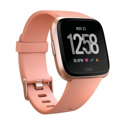 Fitbit Unisex Versa Health and Fitness Smartwatch (FB505RGPK) - Peach Rosegold