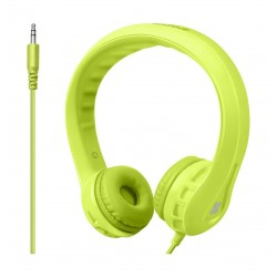 Promate Flexure Wired Headphone For Kids - Green