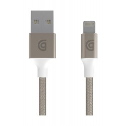 Griffin Braided Charge and Sync USB to Lightning Cable 1.5 Meter (GC40903) - Gold