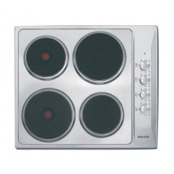 Glem Gas 4 Burners Electric Hub 60cm (P6LE0I) - Silver