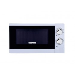 Geepas 20L 1200Watts Microwave Oven (GMO1894) - White