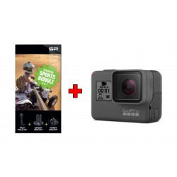 GoPro HERO (2018) With Touch LCD + Gopro Hero 2018 Touch LCD Sports Bundle Essentials