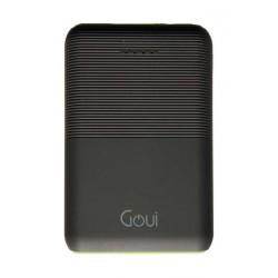 Goui Prime 10000 mAh Wired Power Bank - Black
