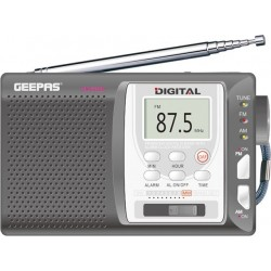 Geepas 10-Band Digital Display Portable Radio (GR6825)