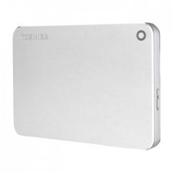 Toshiba Canvio Premium 2TB External Hard Drive - Silver
