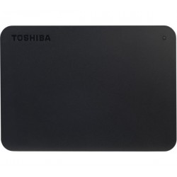 Toshiba Canvio Basic 1TB Hard Drive - Black