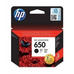 HP Ink 650B for InkJet Printing 360 Page Yield - Black (Single Pack)