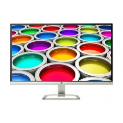 HP 27 inch Curved Full HD LED Desktop Monitor With Speaker - White