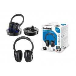 Meliconi Wireless Stereo Headphone - Black