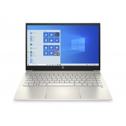 "HP Pavillion 14 Intel Core i5 11th Gen. 8GB RAM 512 GB SSD 14"" Laptop (14-DV0017NX) - Gold"