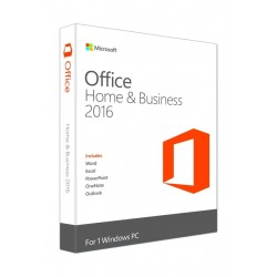 Microsoft Office: Home & Business 2016, Arabic, 1 User