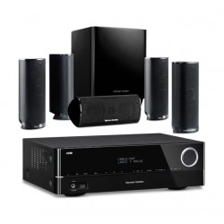 Harman Kardon 5.1 Channel 120W Home Theater Speaker System + Harman Kardon 151 5.1 Channel Networked A/V Receiver - 375W
