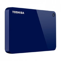 Toshiba Canvio Advance Hard Drive 1TB (HDTC910EL3AA) - Blue