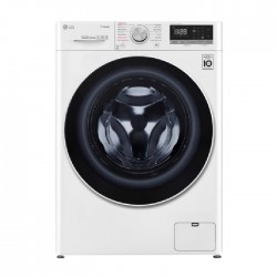 LG Front Load Washing Machine 9 KG With drying 6 KG 1400 RPM (WSV0906WH) - White