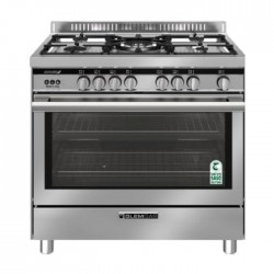 Glem Gas Cooker 90X60CM (ST967GIFSMF) - Stainless Steel