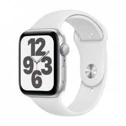 Apple Watch SE 44mm - Silver / white
