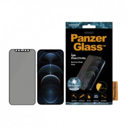 Panzer Glass iPhone 12 Pro Max Cam Slider Dual Privacy Screen Protector