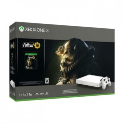 Xbox One X 1TB Console - Fallout 76 Special Edition Bundle Price in KSA | Buy Online – Xcite