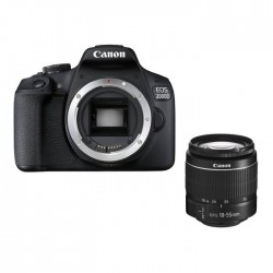 Canon EOS 2000D 24.1MP Wi-fi With 18-55 Lens