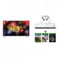 Wansa 70-inch Ultra HD Smart LED TV + Xbox One Console + 3 Games