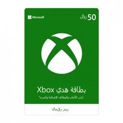 Xbox Live Membership Card - (50 SAR)