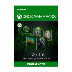Microsoft Xbox Game Pass - (3 Month)