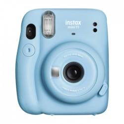 Buy Fujifilm Instax Mini 11 Instant Film Camera Sky Blue in KSA | Buy Online – Xcite