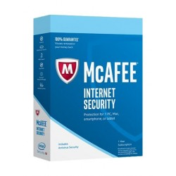 Mcafee Internet Security 2017 (MIS17AMB1RAO) - 1 User