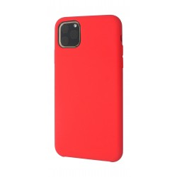 EQ iPhone 11 Pro Max Liquid Silicone Back Case - Red