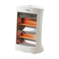 Emjoi Power 1200W Electric Halogen Heater - White (UEH-120H)