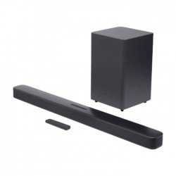 JBL 2.1 Channel Soundbar with Wireless Subwoofer Price in KSA | Buy Online – Xcite