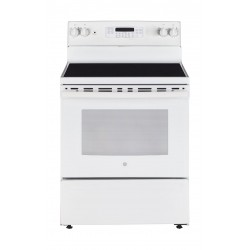 GE 76x65cm Electric Cooker (JCB735DILWW) - White