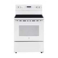 GE 76x65cm Electric Cooker (JCB735DILWW) - White