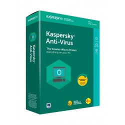 Kaspersky Anti Virus 2020 - 1+1 User