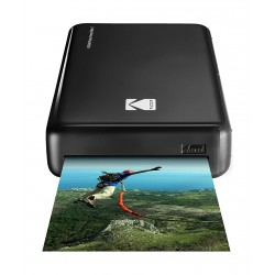 Kodak Mini 2 HD Wireless Portable Mobile Instant Photo Printer - Black