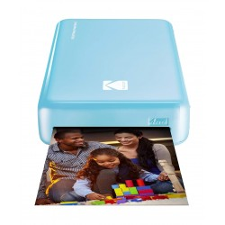 Kodak Mini 2 HD Wireless Portable Mobile Instant Photo Printer - Blue
