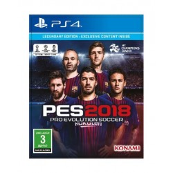 PES 2018 Legendary Edition - PlayStation 4
