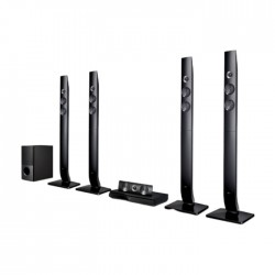 LG 1200W 5.1 Channel Wireless DVD Home Theatre System (LHD756) Price in Kuwait | Buy Online – Xcite