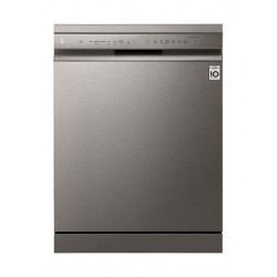 LG QuadWash 14 Settings Dishwasher (DFB512FP) - Silver