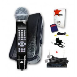 Magic Star Magic Sing MS800 SP200 Karoake Mic-Black