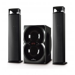 Magic Star Boombox Reconnect  Multimedia Speaker (BB260) - Black