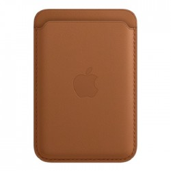Apple iPhone Magsafe Leather Wallet - Brown