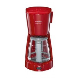 Bosch 1100W Filter CompactClass Extra Coffee Machine (TKA3A034GB) – Red