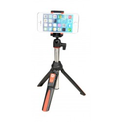 MeFoto 2-in-1 Portable Selfie Stick (MK10) - Red