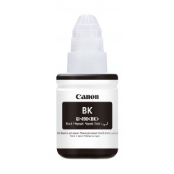 Canon GI-490 135ml Ink Bottle For Inkjet Printing (0663C001AA)- Black