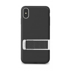 Moshi Capto iPhone XS Max Slim Case with MultiStrap - Black
