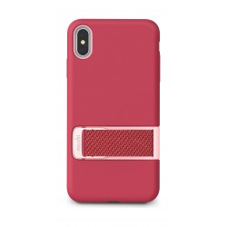 Moshi Capto iPhone XS Max Slim Case with MultiStrap - Pink