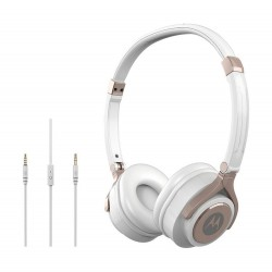 Motorola Pulse 2 Wired On Ear Headphone – White