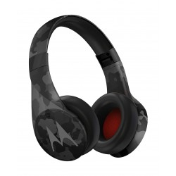 Motorola Pulse Escape Plus Wireless Over-Ear Headphones - Black Camo